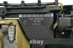 06-10 Mercedes W251 R500 Front Left Side Keyless Go Exterior Door Handle White