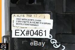 07-13 Mercedes W216 CL600 CL63 CL550 Left Driver Door Handle Keyless Go Blue OEM