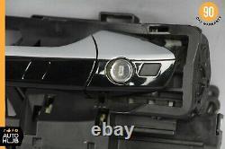 07-13 Mercedes W216 CL63 AMG CL550 Left Driver Door Handle Keyless Go Black OEM