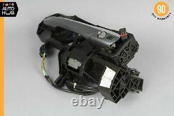 07-14 Mercedes W216 CL63 AMG CL550 Left Driver Door Handle Keyless Go Gray OEM
