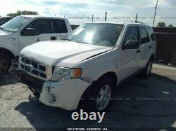 09-12 FORD ESCAPE Driver Front LH Door Electric Without Keyless Entry Pad White