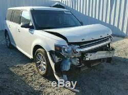 13 14 Ford Flex L. Front Door Electric Non-Laminated Acoustic Glass Keypad Entry