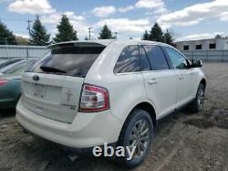 2007-2010 Ford Edge Driver Front Door WithKeyless Entry Pad White 2688228
