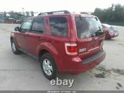 2008-2012 Ford Escape Driver Front Door Electric WithKeyless Entry Pad Red