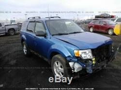 2009-2012 Ford Escape Blue Driver Front Door Power Models With Keyless Entry Pad