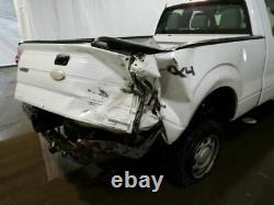 2009-2014 Ford F150 Driver Front Door Electric WithO Keyless Entry Pad White