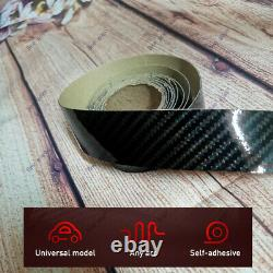 2M Carbon Fiber Car Door Plate Sill Scuff Cover Anti Scratch Sticker Accessories