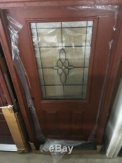 36 Exterior Fiberglass RH Front Entry Door