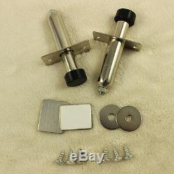 BRAND New Shaved Handle Door Popper 4 Door Kit 85 lb with 2 Remotes