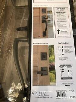 Baldwin Torrey Pines Venetian Bronze Front Entry Door Handleset Smartkey Lock