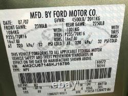 Driver Front Door Electric With Keyless Entry Pad Fits 09-12 ESCAPE 529310