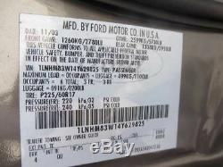 Driver Front Door Keyless Entry Pad Fits 03-11 LINCOLN & TOWN CAR 207653