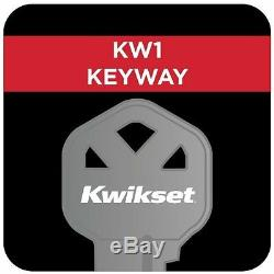 Entry Door Knob Handleset Hardware Front Exterior Lock Adjustable Lever Security