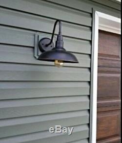 Exterior Light Fixture Wall Mount Front Door Porch Barn Outdoor Patio ORB Entry