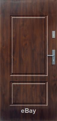 Fargo 14 simple front door / steel exterior front entry doors