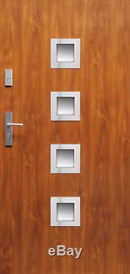 Fargo 19 single front entry door / exterior front entry door