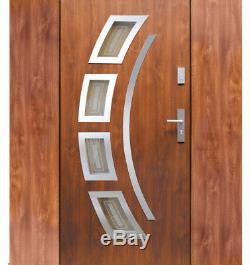 Fargo 21 T exterior front entry door with 2 sidelites / entrance door