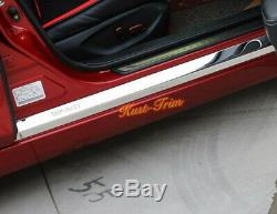 For Infiniti Q50 2014-2017 Car Door Body Sill Plate Entry Guards Protector 4pcs