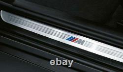 Genuine BMW 1' 2' 3' 4' X1 X2 M Sport Front Left Right Door Entry Sill Strip Set