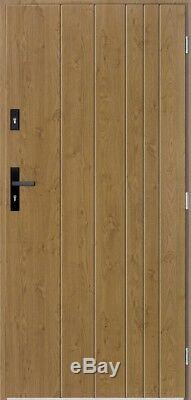 Gutenberg contemporary front door / solid exterior front entry doors