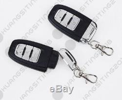 Hopping Code PKE Car Alarm System W Keyless Entry Remote Start Push Button Start