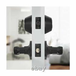 KNOBWELL 5 Pack Front Entry Door Handle Lock Set Exterior Door Lock Set