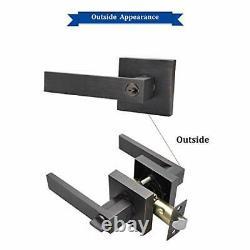 Keyed Entry Lever Lock for Exterior Door and Front Door Heavy Duty Lever Door Lo
