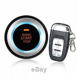 Keyless Entry SUV Car Alaram System Engine Start Push Button Host Remote Starter