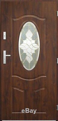 Lupus classic door with glass / exterior front entry door