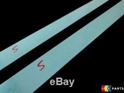 Mini New Genuine Clubman R55 S Door Entry Sill Strip Trim Pair Set