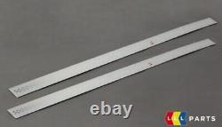 Mini New Genuine R56 R57 R58 S Door Entry Sill Strip Cover Set Pair Left Right