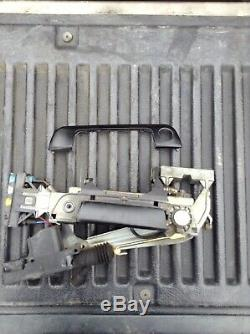 OEM BMW E32 E34 M5 540i 735i 740iL 750iL FRONT DRIVER DOOR CATCH HANDLE ASSEMBLY