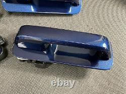 Oem 2015-2020 Ford F150 Exterior Keyless Entry Door Handle Set Blue Jeans N1