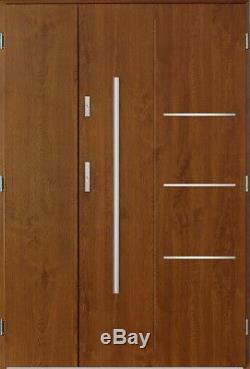 Pires Uno composite wide entry contemporare entrance exterior front door