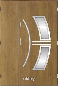 Sirius Uno exterior entry door for sale / double glazed front house door