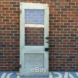 Wood Front Entry Exterior Farm House Door Eastlake Vintage Antique READ DESC