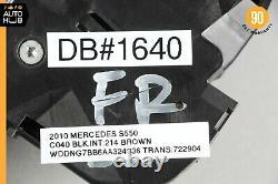 07-13 Mercedes W221 S550 S63 Amg Avant Droite Sans Clé Aller Poignée De Porte Extérieure Oem
