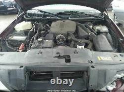 2003-2011 Lincoln Town Car Driver Porte D'entrée Sans Clé Pad Maroon 3363207