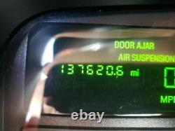 2003-2011 Lincoln Town Voiture Conducteur Porte Avant Sans Clé Plaque D'entrée Argent 4137879