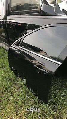 2006-2012 Ford Fusion Porte Avant Conducteur Avec Le Noir D'entrée Sans Clé Couleur