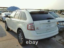 2007-2010 Ford Edge Driver Porte Avant Avec Bloc D'entrée Sans Clé Blanc 902490