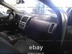 2007-2010 Ford Edge Driver Porte Avant Avec Plaque D'entrée Sans Clé Blanc 2787022