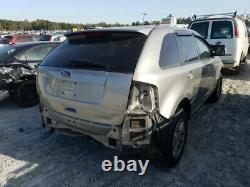 2007-2010 Ford Edge Driver Porte D'entrée Avec Clé D'entrée Pad Argent 3611802