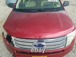 2007-2010 Ford Edge Driver Porte D'entrée Avec Clé D'entrée Rouge 3425950