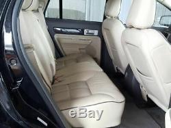 2007-2010 Ford Edge Pilote Porte Avant Withkeyless Entrée Tapis Noir 3100271