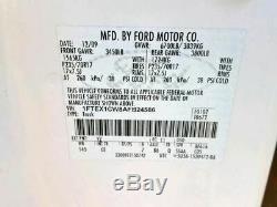 2009-2014 Ford F150 Blanc Conducteur Porte Avant Électrique Witho Entrée Sans Clé Pad