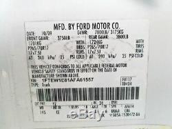 2009-2014 Ford F150 Conducteur Porte Avant Électrique Witho Entrée Sans Clé Tapis Blanc
