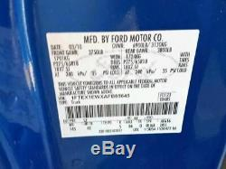 2009-2014 Ford F150 Conducteur Porte Avant Électrique Witho Entrée Sans Clé Tapis Bleu