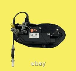 Bmw E60 535i 550i M5 Avant Gauche Conducteur Poignée De Porte Espace Gray Comfort Access Oem