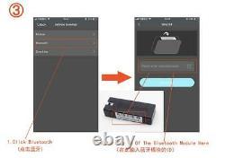Bouton Poussoir Télécommande Arrêt Système D'alarme D'entrée Kit Moteur De Voiture Démarrage Keyless